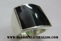 sello unisex de plata y azabache asturiano