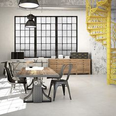 Found it at Wayfair - Warehouse Windows Industrial Texture Wall Mural