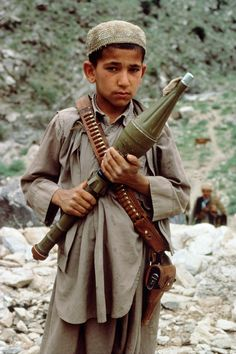 Child Soldiers | Steve McCurry