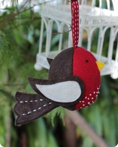 Ric Rac — Chubby Birds (creative card) PDF sewing pattern