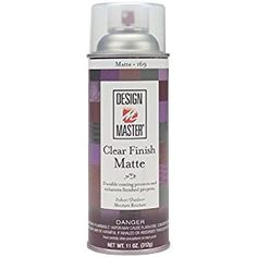 Design Master DM-HDF-169 Home Decor Finish Aerosol Spray, 11-Ounce, Clear Matte Liquid Chalk Markers, Sewing Stores, Painted Rocks, Design, Crafts, Home Decor, Angel Ornaments, Simon Says Stamp, Burlap