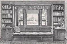 My hometown library had a window seat that looked exactly like this in the back. Miss that place...