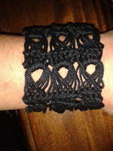armband gehaakt