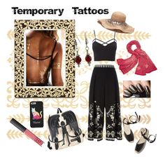 """""""Going Wild... Temporarily"""" by uniquecreationsbyamy ❤ liked on Polyvore featuring L'Objet, Charlotte Russe, Temperley London, Tory Burch, Soludos, NARS Cosmetics and plus size clothing"""