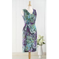 Watercolor Side Knot Dress - Women's Clothing, Jewelry, Fashion Accessories and Gifts for Women with a Flair of the Outdoors | NorthStyle