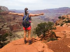 Hiking the Grand Canyon Rim To Rim over Spring Break.