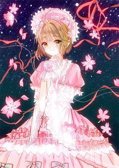 Desconheço o autor da ilustração... #sakurakinomoto #cardcaptorsakura