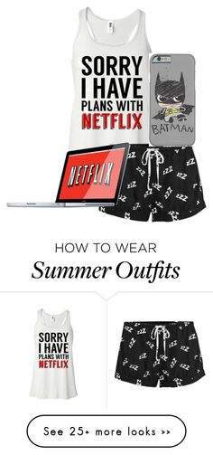 """""""Netflix Plans"""" by soccerlover14 on Polyvore featuring MINKPINK"""