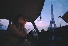 Françoise Hardy in Paris