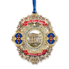 2006 White House Christmas Ornament, Tiffany Glass in the White House - Ornaments - Christmas | The White House Historical Association