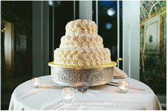 Wedding cake at FEAST. { Christina + Vinny } Feast at Round Hill, Washingtonville, NY ~ Newburgh Wedding Photographer | Hudson Valley Wedding Photographer, New Yor...