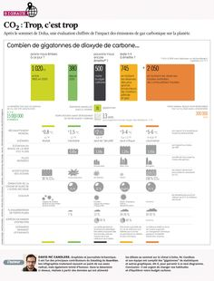 Infographie : après Doha, une évaluation chiffrée de l'impact des émissions de CO2 cc @audreygarric