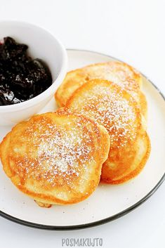 Brunch Recipes, Breakfast Recipes, Dinner Recipes, Polish Recipes, Pancakes, Deserts, Good Food, Food And Drink, Cooking Recipes