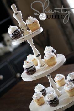 DIY Shanty Cupcake Tower                                                                                                                                                                                 Más