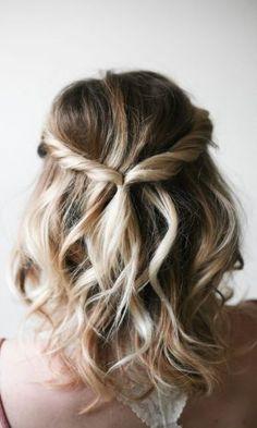 Seis Penteados para Quem Tem Cabelo Curto - Gabi May