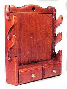 Gun rack with drawers