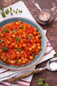 Vegan Vegetarian, Vegetarian Recipes, Healthy Recipes, 300 Calories, Russian Recipes, What To Cook, Chana Masala, Food Porn, Food And Drink