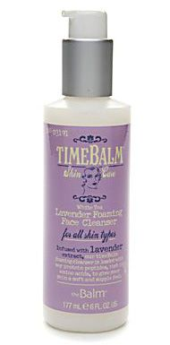 theBalm TIMEBALM Skincare White Tea Lavender Foaming Face Cleanser: Click to go to SkincareDupes.com to view possible dupes!