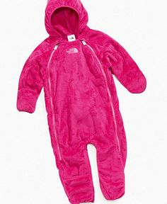 The North Face Baby Bunting, Baby Girls Buttery Fleece Bunting - Kids Baby Girl (0-24 months) - Macy's