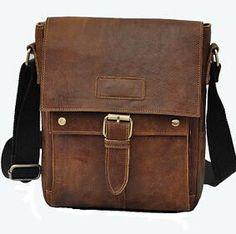 Flying birds! 2016 men's travel bags Genuine leather handbag retro style men messenger bags luxury high quality bags LM0252