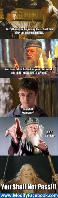 Poor, poor Harry. I always wondered how he got through school with all the crap that keeps coming up every year.