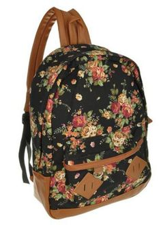 Eforstore Pastoral Style Floral Canvas School Book Satchel Travelling Backpacks Rucksack for Women Teens Girls (Floral Black) Eforstore http://www.amazon.com/dp/B00MKLXRV6/ref=cm_sw_r_pi_dp_EvQ7tb1E4P12A