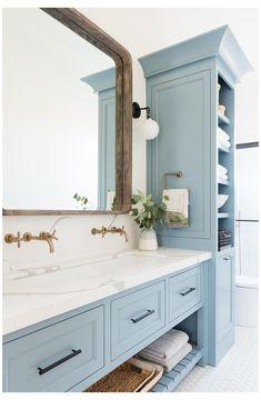Bathroom Vanity Cabinets, Bathroom Storage, Bathroom Organization, Bathroom Mirrors, Master Bathrooms, Bathroom Fixtures, Luxury Bathrooms, Small Bathrooms, Dream Bathrooms