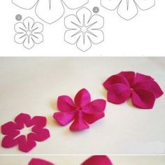 Resolution: Find the picture to your taste! Felt Flowers, Diy Flowers, Favim, Easy Diy, Diy Projects, Pictures, Inspiration, Creative Ideas, Baby