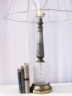 Tall Vintage Table Lamp, Living Room Lighting, Bedroom Lighting, Tabletop Lamp