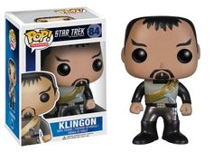 This Star Trek Pop! Klingon Vinyl Figure is just like the character from the Original Series, only cuter!