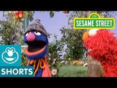 Sesame Street: Super Grover Saves Elmo's Apple - YouTube