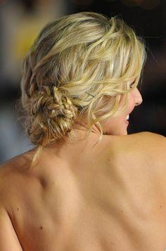 Kristen Bell's Braided Bun