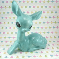 blue sweetheart deer