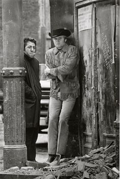 Dustin Hoffman and Jon Voight - Midnight Cowboy, New York, 1968, by Steve Schapiro