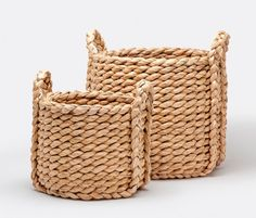 Set of large baskets by Made Goods