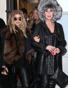 Fergie and Cher