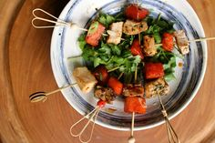 Surviving a Cocktail Party | Pork Belly and Watermelon Skewers | PackNWood