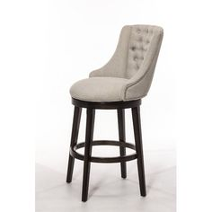 Daniel Swivel Bar Stool with Cushion High Back Bar Stools, 30 Inch Bar Stools, Bar Stools With Backs, Swivel Counter Stools, Cool Bar Stools, Kitchen Counter Stools, Counter Height Stools, Kitchen Island, Metal Stool