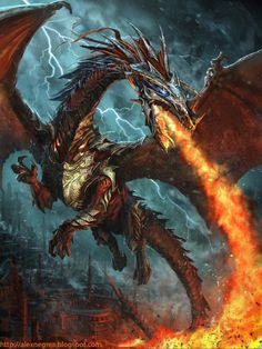 Legend of Cryptids Dragon by alexnegrea on @DeviantArt