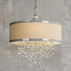 Uttermost Fascination 3-Light Chandelier - #N0784 | LampsPlus.com