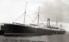 CERAMIC 1913-1942. In 1934 she was sold to Shaw Savill, her name remained the same. Sunk off the Azores in 1942 by U516.