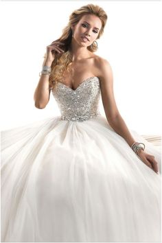 Ballgown Silhouette Maggie Sottero Wedding Dresses - MODwedding