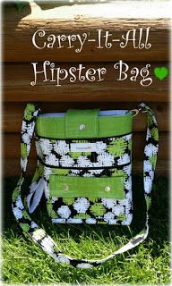 Novice Beginnings: The Carry-It-All Hipster Bag Tutorial