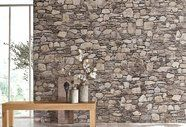 Wandtapete, Home Affaire Firewood, Interior, Wall, Living Products, Space, Grey, Kitchen, Wallpapers, Indoor