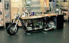 motorcycle bar