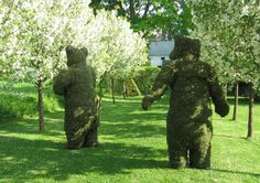 A Secret Garden: Fanciful Topiary in the Berkshires: Gardenista