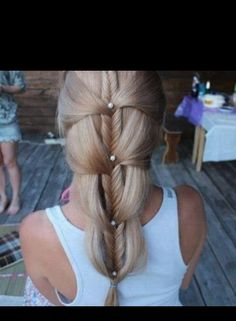 Prodigious Useful Ideas: Waves Hairstyle On Men everyday hairstyles asian.Braided Hairstyles For Teens wedding hairstyles Hairstyles Over 50 Classy. Long Hairstyles, Pretty Hairstyles, Braided Hairstyles, Wedding Hairstyles, French Hairstyles, Amazing Hairstyles, Wedge Hairstyles, Hairstyle Ideas, Casual Hairstyles