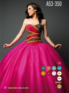 Ragazza Fashion Quinceanera Dress Style A53-350