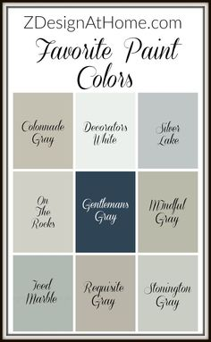 zdesign at home best paint colors the best grays
