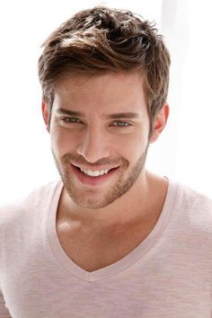 "Hot guy but is this a ""before"" ad for valacyclovir? What's that on his bottom lip?"